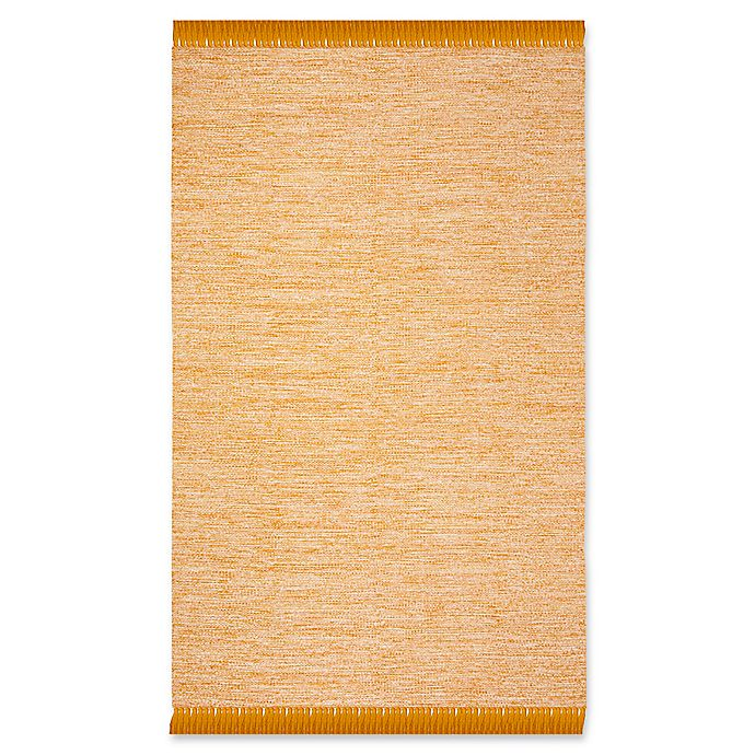 Alternate image 1 for Safavieh Montauk 5' x 8' Aria Rug in Gold