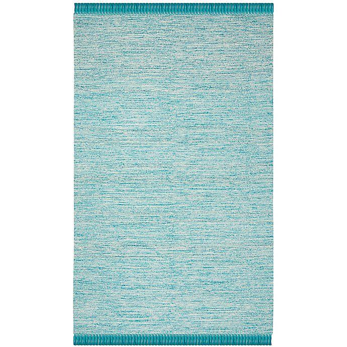 Alternate image 1 for Safavieh Montauk 8' x 10' Aria Rug in Turquoise