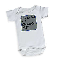 Sara Kety® Stop Texting and Change Me Bodysuit