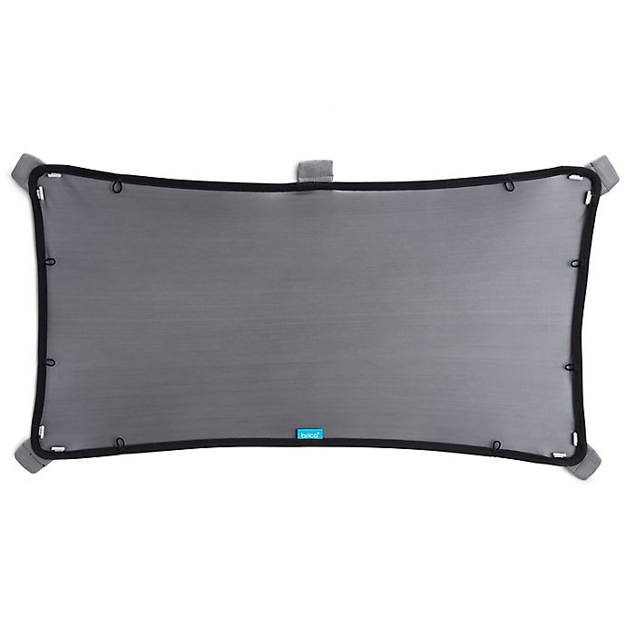 Alternate image 1 for Brica® Magnetic Stretch-to-Fit™ Window Shade in Black