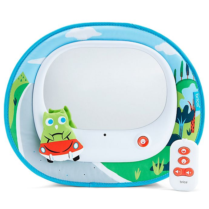 Alternate image 1 for Brica® Cruisin™ Baby In-Sight® Back Seat Entertainment Mirror