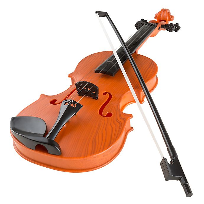 Alternate image 1 for Hey! Play! Musical Electric Toy Violin with Bow