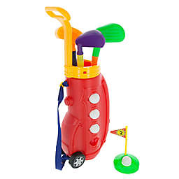 Hey! Play! Toddler Toy Golf Play Set and Carrier