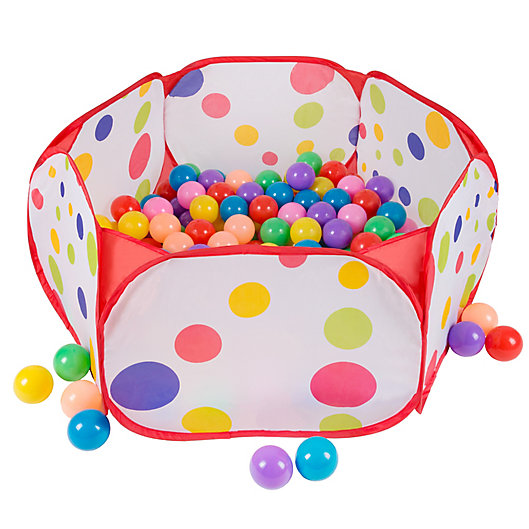 Alternate image 1 for Hey! Play! Kids Pop-Up Six-Sided Ball Pit Tent