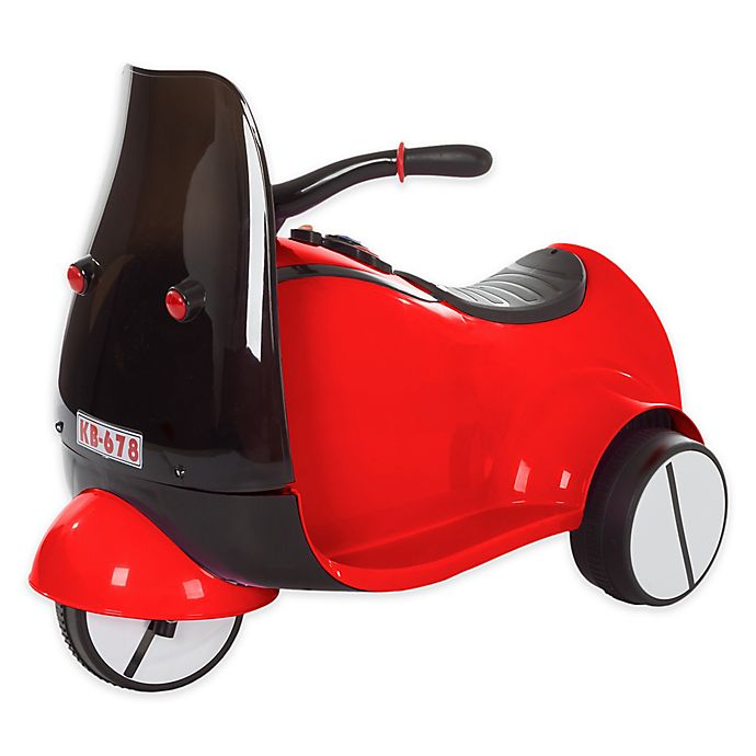Alternate image 1 for Lil' Rider Battery-Operated Ride-On 3-Wheeled Motorcycle