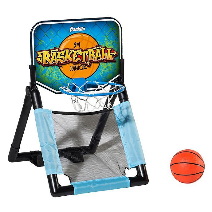 Alternate image 1 for Franklin® Sports 2-in-1 Basketball Set in Blue/Orange