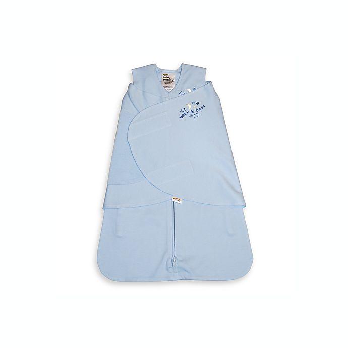 Alternate image 1 for HALO® SleepSack® Small Cotton Swaddle in Blue
