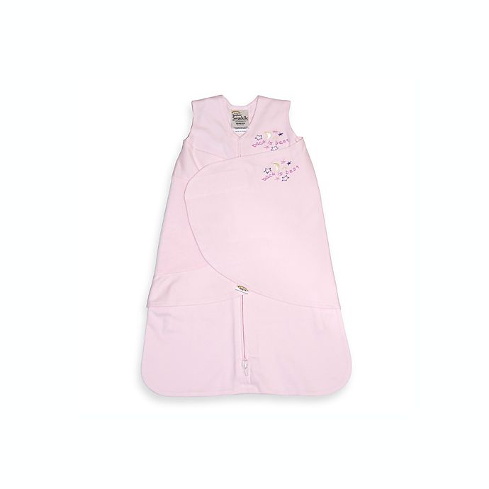 Alternate image 1 for HALO® SleepSack® Small Cotton Swaddle in Pink