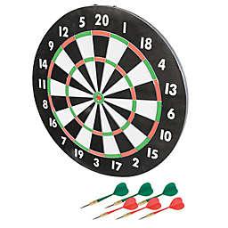 Franklin® Sports 17-Inch Paper Dartboard in Black/White