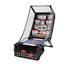 Franklin® Sports Electronic Basketball Bounce Jr. in Black/Orange