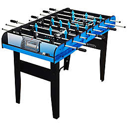 Franklin® Sports 48-Inch Authentic Foosball Table Set in Black/Blue