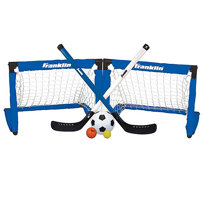on sale 25a43 20b68 Franklin® Sports 3-in-1 Indoor Sports Set in Blue White