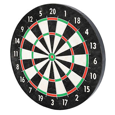 Franklin® Sports 18-Inch Pro Wire Bristle Dartboard in Black/White