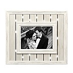 Grasslands Road 5-Inch x 7-Inch Window Box Wedding Light Up Frame in White