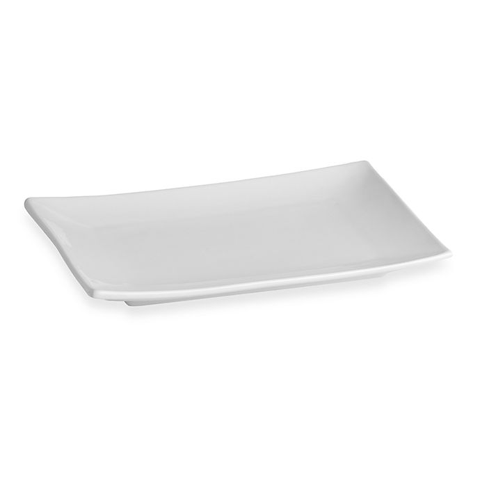 Alternate image 1 for Everyday White® by Fitz and Floyd® 11-Inch Rectangular Platter