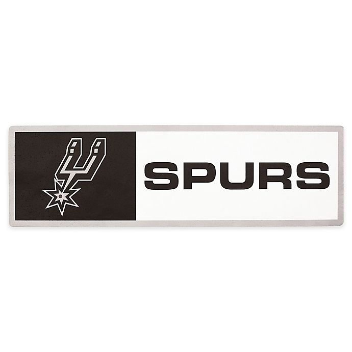 Alternate image 1 for NBA San Antonio Spurs Outdoor Step Graphic Decal