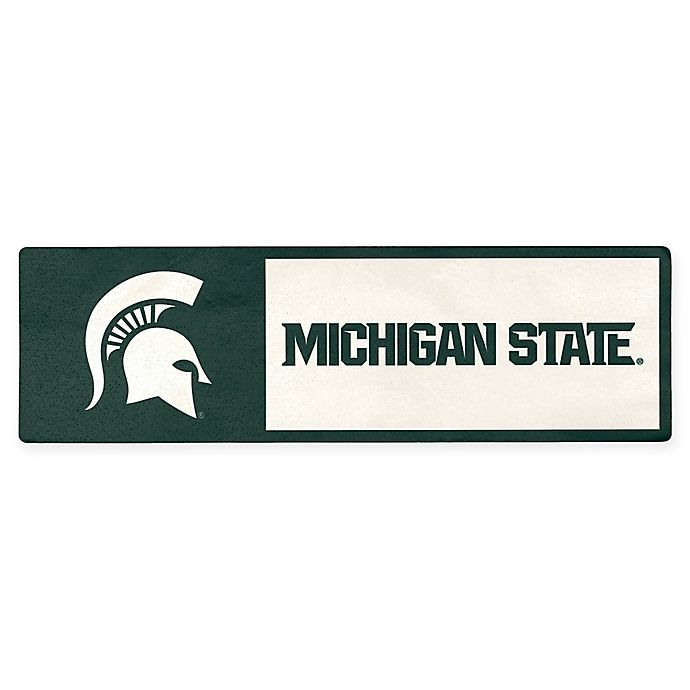 Alternate image 1 for Michigan State University Outdoor Step Graphic Decal
