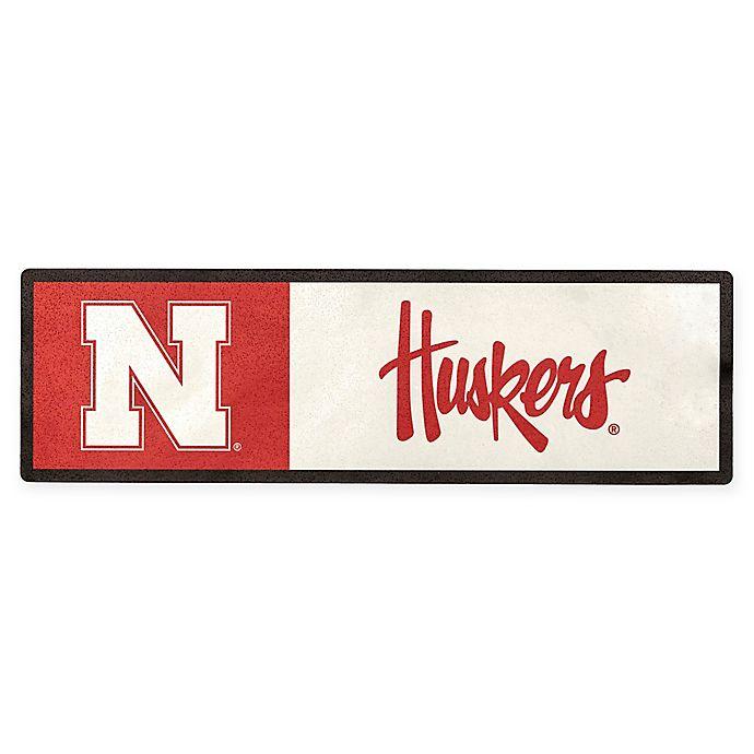 Alternate image 1 for University of Nebraska Outdoor Step Graphic Decal