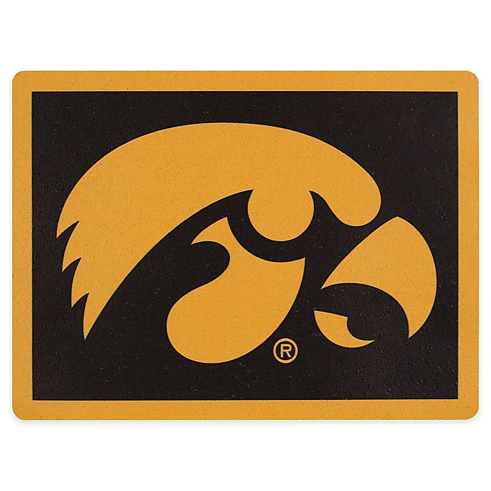 Alternate image 1 for University of Iowa Outdoor Curb Address Logo Decal