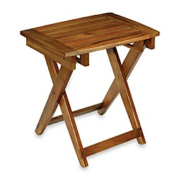 Conair® Teak Folding Shower Seat