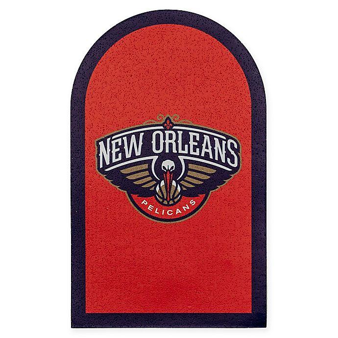 Nba New Orleans Pelicans Mailbox Door Logo Decal