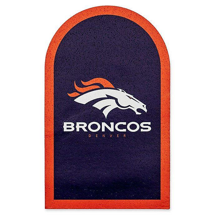 Alternate image 1 for NFL Denver Broncos Mailbox Door Logo Outdoor Decal
