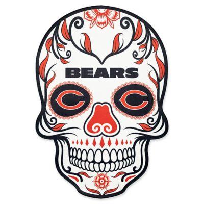 Nfl Chicago Bears Outdoor Dia De Los Muertos Skull Decal