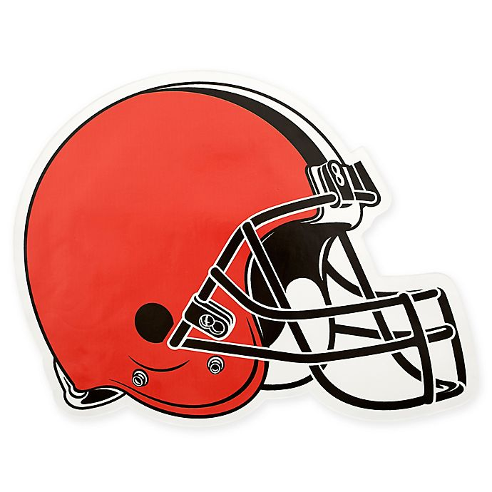 c9751017 NFL Cleveland Browns Outdoor Helmet Graphic Decal | Bed Bath & Beyond