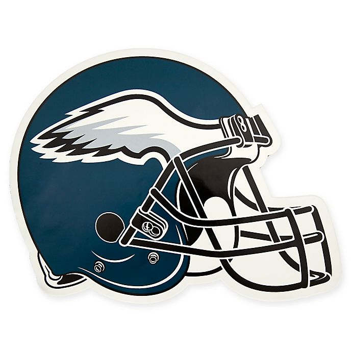 dcd5d186 NFL Philadelphia Eagles Outdoor Helmet Graphic Decal | Bed Bath & Beyond