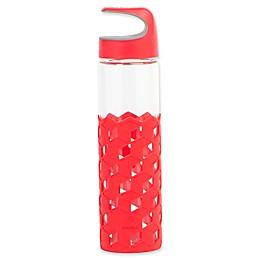 Manna™ Wai® Cubes 20 oz. Hook Lid Glass Water Bottle