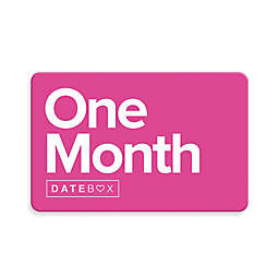 Datebox™ 1 Month Gift Subscription