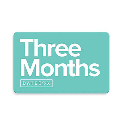 Datebox™ 3 Month Gift Subscription