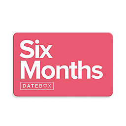 Datebox™ 6 Month Gift Subscription