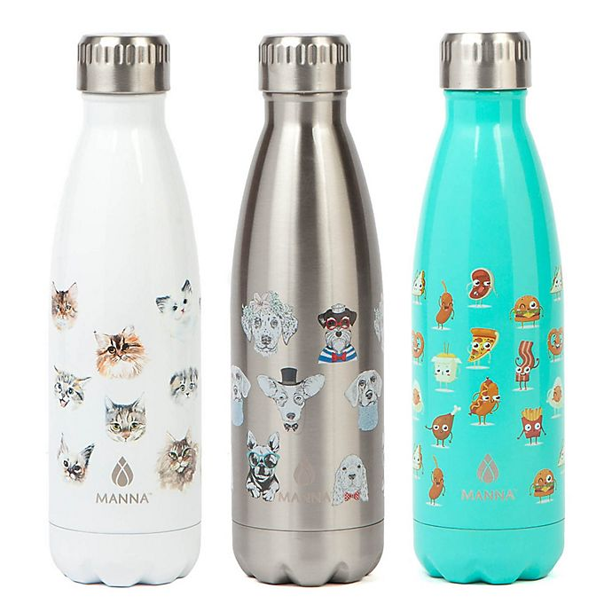 Manna Vogue 174 17 Oz Double Wall Stainless Water Bottle