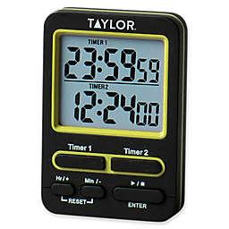 Taylor Dual Event Digital Timer in Black