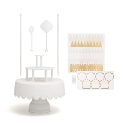 Sweet Tooth Fairy Magic Cake Stand In White Bed Bath
