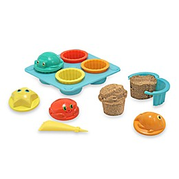 Seaside Sidekicks Sand Cupcake Set From Sunny Patch By Melissa & Doug®