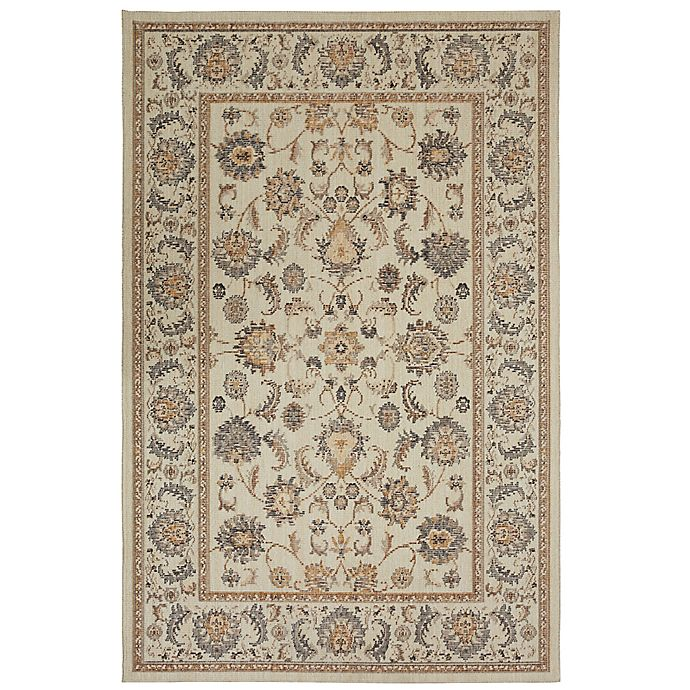 Alternate image 1 for Mohawk Home Heirloom Iseo 5' x 8' Area Rug in Blue