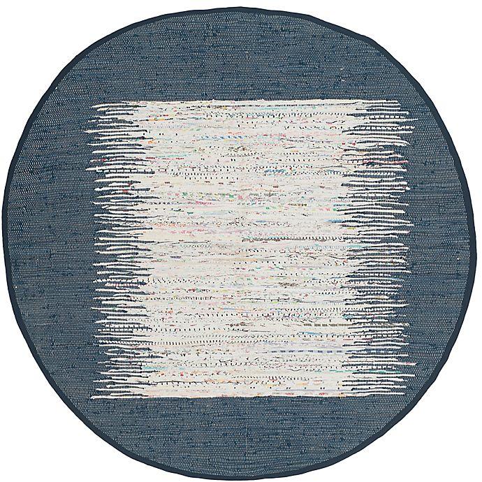 Alternate image 1 for Safavieh Montauk 4' x 4' Beatrix Rug in Navy