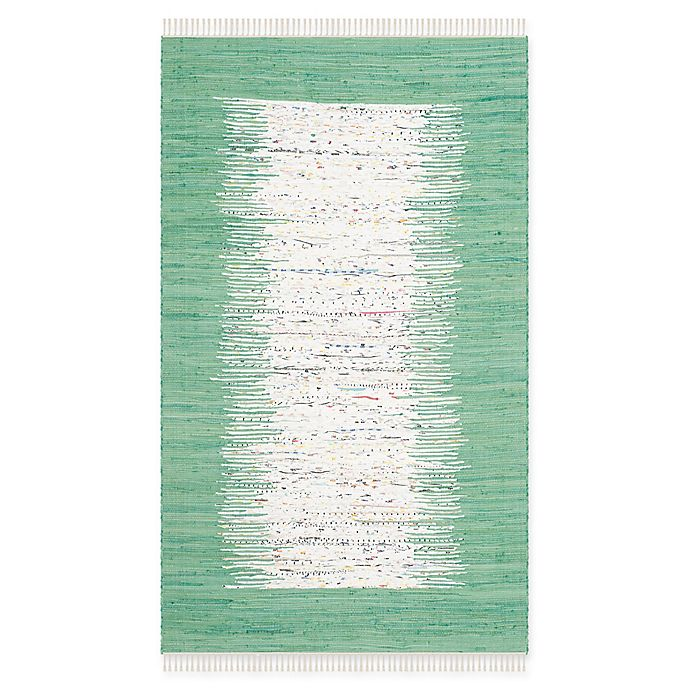 Alternate image 1 for Safavieh Montauk 5' x 8' Beatrix Rug in Sea Green