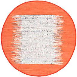 Safavieh Montauk 6' x 6' Beatrix Rug in Orange