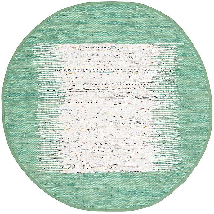 Alternate image 1 for Safavieh Montauk 6' x 6' Beatrix Rug in Sea Green