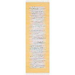 """Safavieh Montauk 2'3"""" x 9' Beatrix Rug in Yellow"""