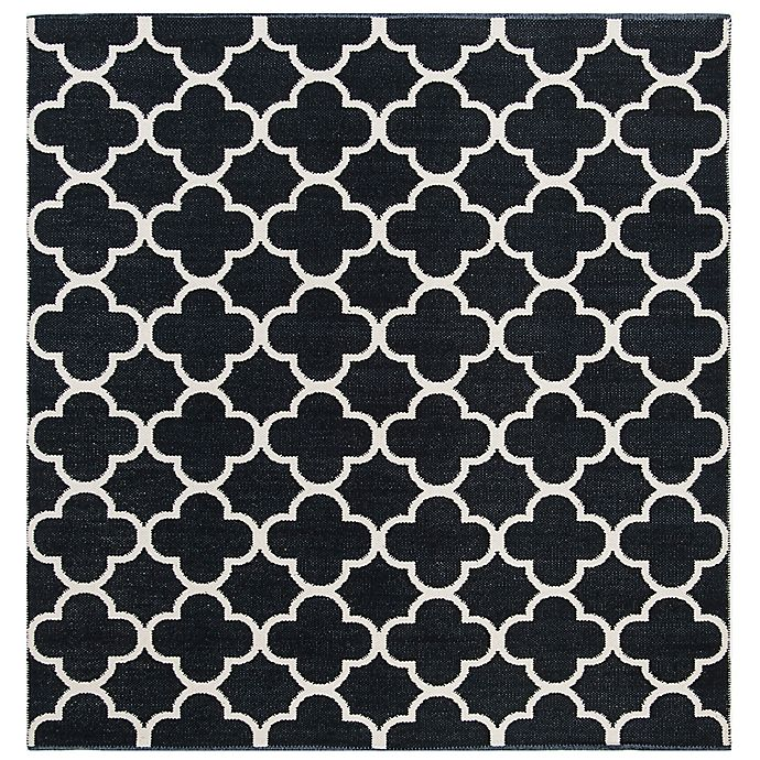Alternate image 1 for Safavieh Montauk 6' x 6' Holden Rug in Black