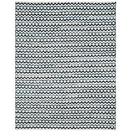 Safavieh Montauk 9' x 12' River Rug in Ivory Blue
