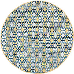 Safavieh Montauk 4' x 4' Matteo Rug in Gold