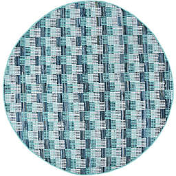 Safavieh Montauk 6' x 6' Matteo Rug in Turquoise