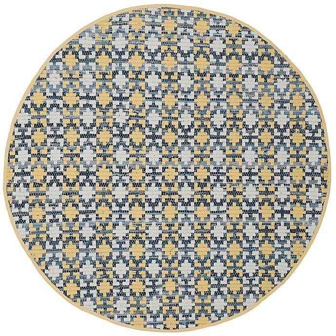 Alternate image 1 for Safavieh Montauk 4' x 4' Savoy Rug in Gold