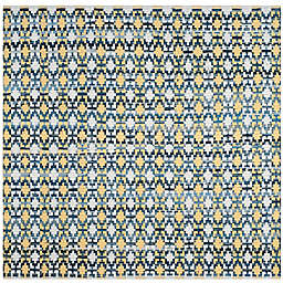 Safavieh Montauk 4' x 4' Savoy Rug in Gold