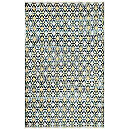 Safavieh Montauk 4' x 6' Savoy Rug in Gold